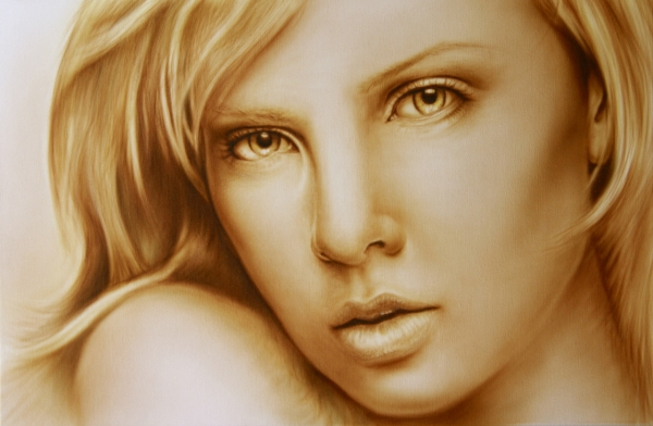 Charlize Theron by wavewatcher